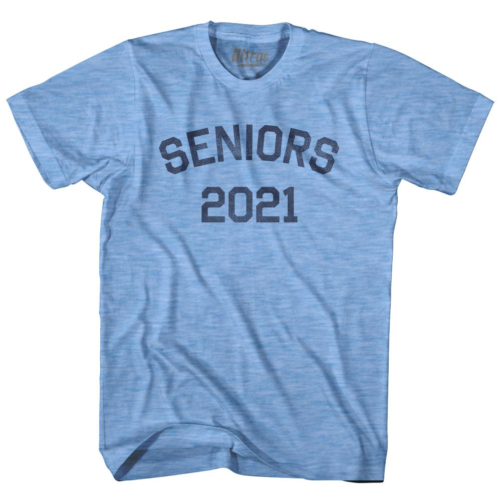 Seniors 2021 Adult Tri-Blend T-shirt by Ultras