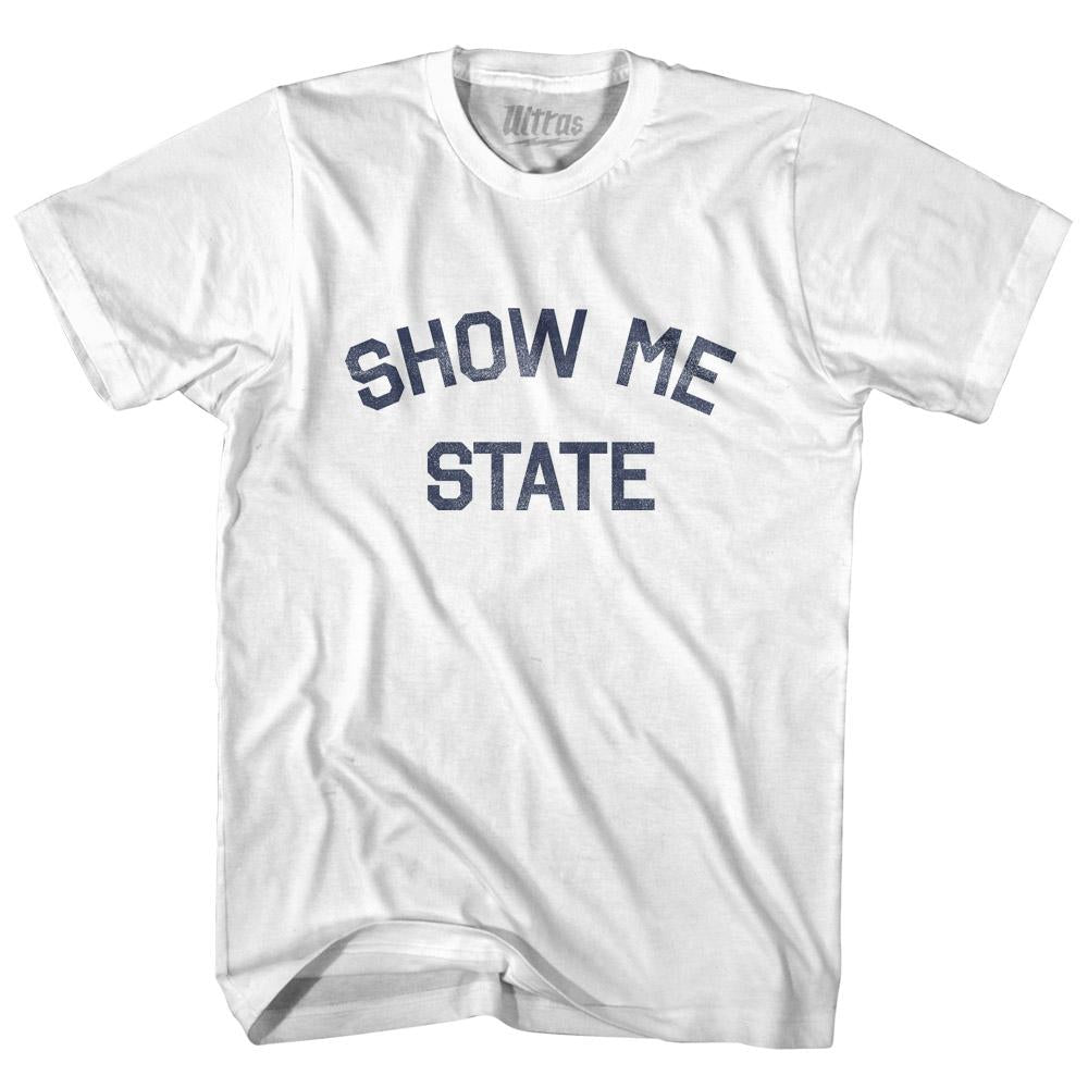 Missouri Show Me State Nickname Adult Cotton T-shirt by Ultras