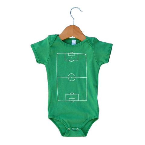Soccer Field Onesie - Infant Onesie