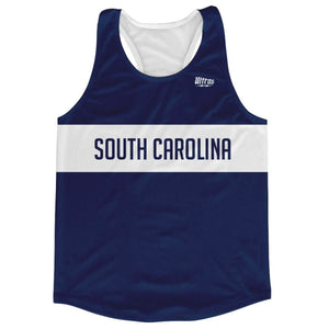 South Carolina Finish Line Running Tank Top Racerback Track and Cross Country Singlet Jersey - Navy / Adult X-Small - Running Top
