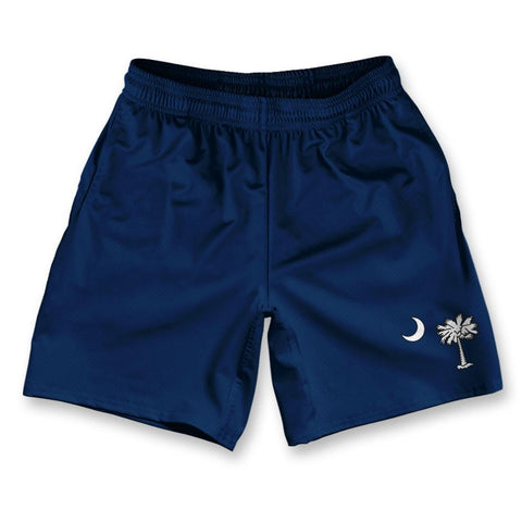 "South Carolina Athletic Running Fitness Exercise Shorts 7"" Inseam by Ultras Sportswear"
