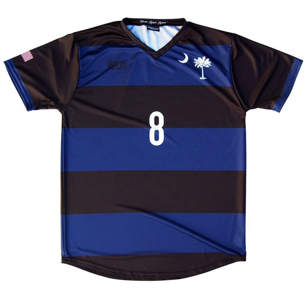 South Carolina State Cup Soccer Jersey - Navy / Youth X-Small / No - Ultras State Cup Soccer Jerseys