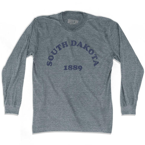 Ultras - South Dakota State 1889 Adult Tri-Blend Long Sleeve Vintage T-shirt