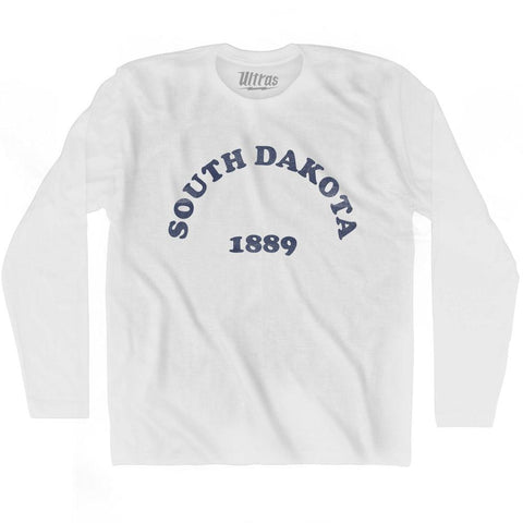 Ultras - South Dakota State 1889 Adult Cotton Long Sleeve Vintage T-shirt