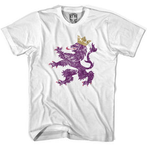 Spain Leo Lion T-shirt - White / Youth X-Small - Ultras Soccer T-shirts