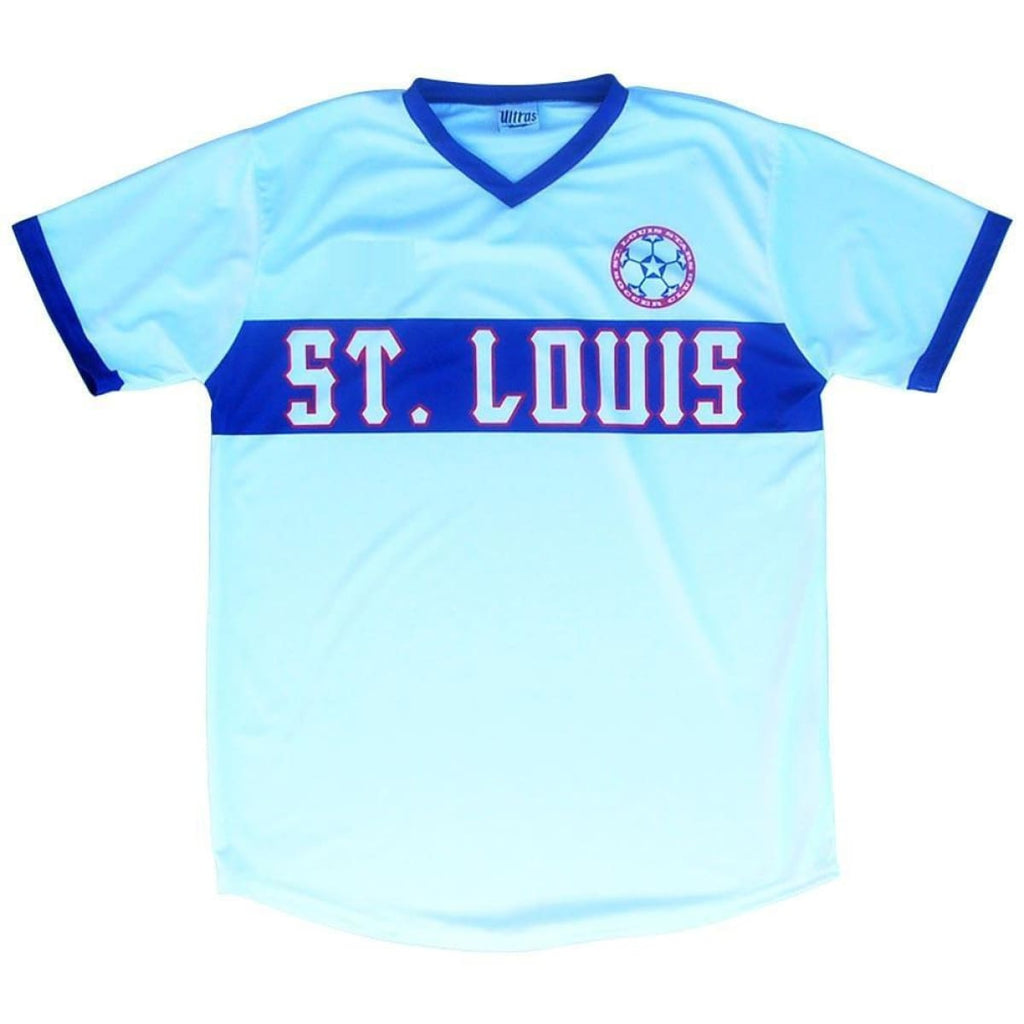 St. Louis Stars White Soccer Jersey - White / Toddler 1 / No - Ultras NASL Soccer Jerseys