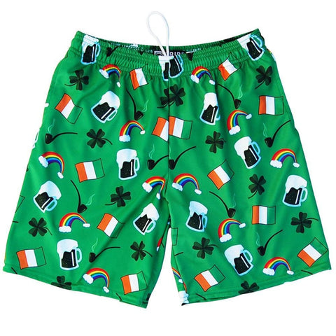 St. Patricks Day Irish Ireland Lacrosse Shorts - Tribe Lacrosse Shorts
