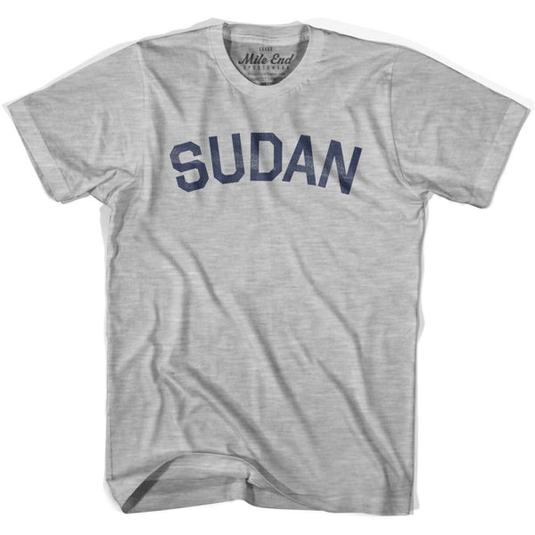 Sudan City Vintage T-shirt - Grey Heather / Youth X-Small - Mile End City
