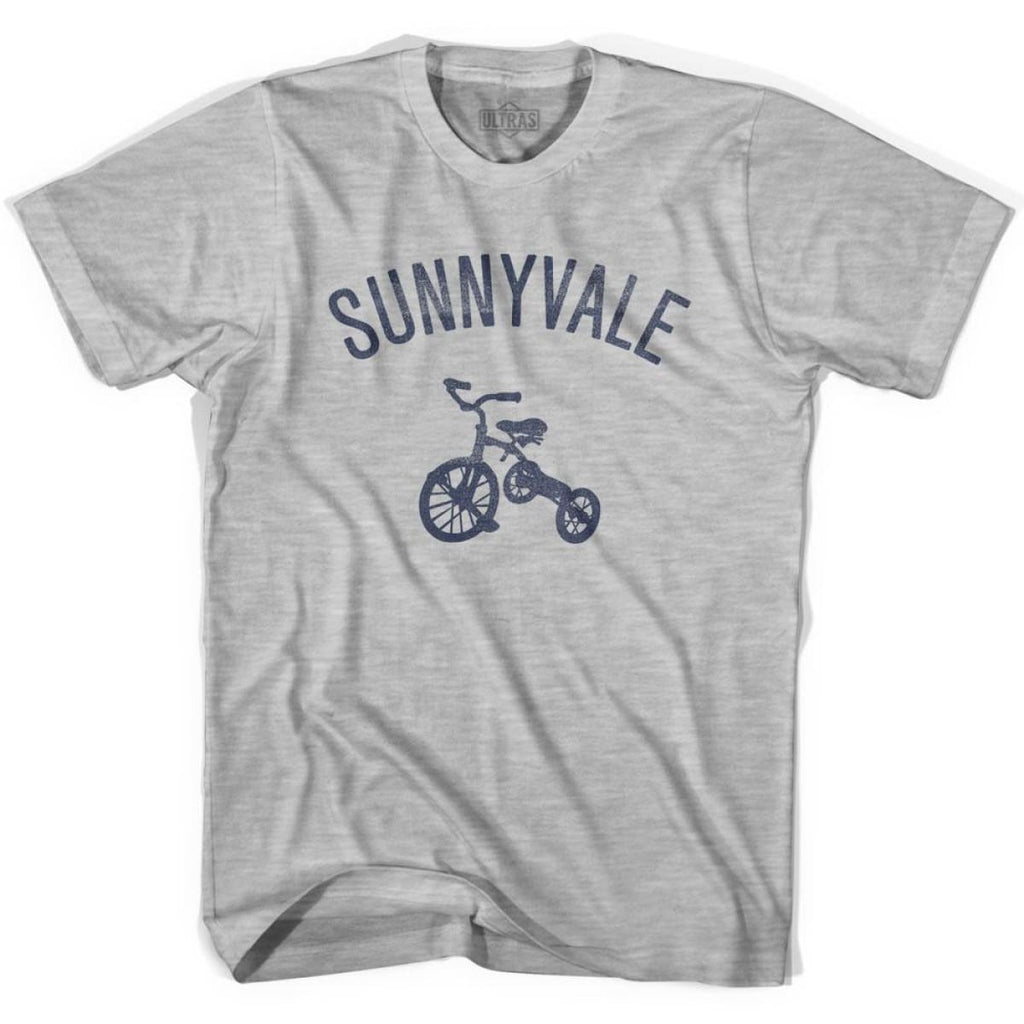 Sunnyvale City Tricycle Womens Cotton T-shirt - Tricycle City
