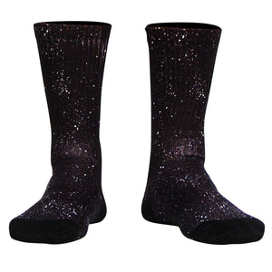 Superfly Athletic Crew Socks - Black / Adult Medium - Socks