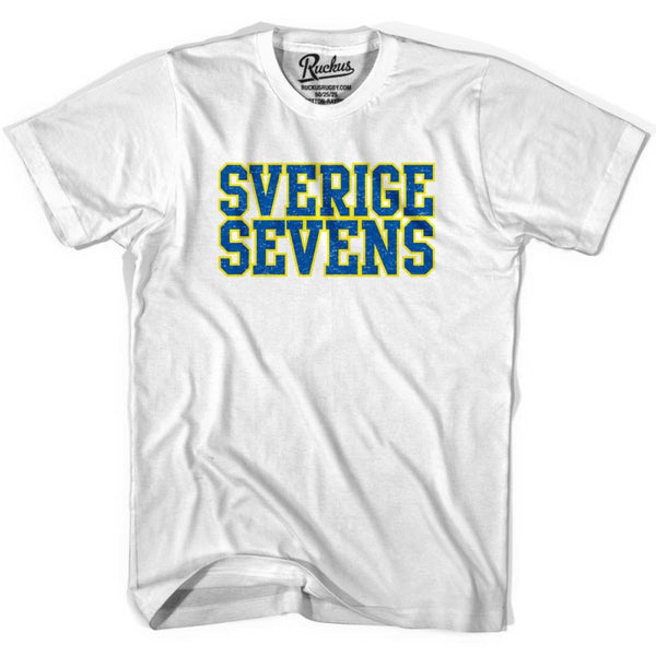 Sweden Seven Rugby Nations T-shirt - Cool Grey / Youth X-Small - Rugby T-shirt