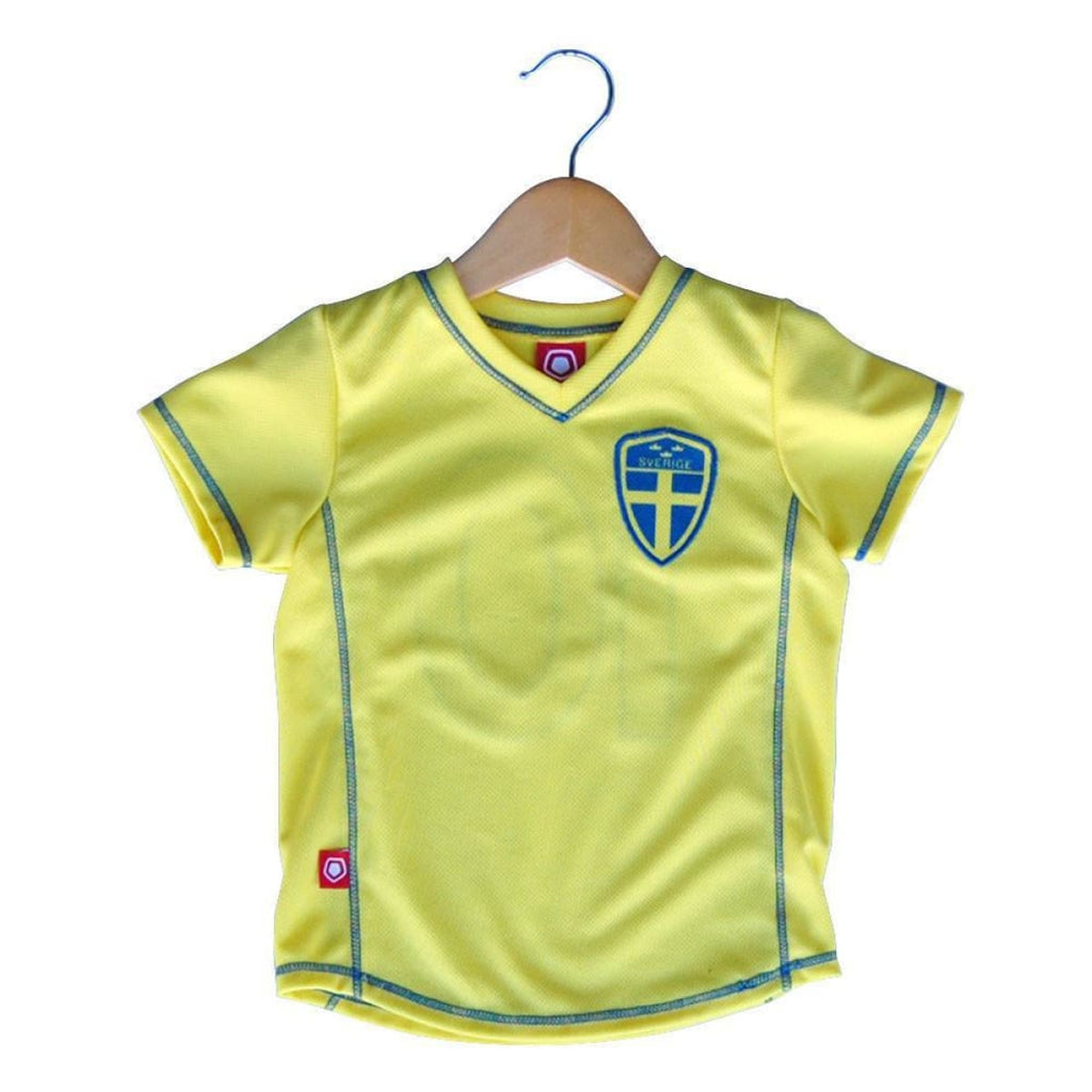 Sweden Toddler Soccer Jersey - Lemon / Toddler 1 - Ultras Soccer Jerseys