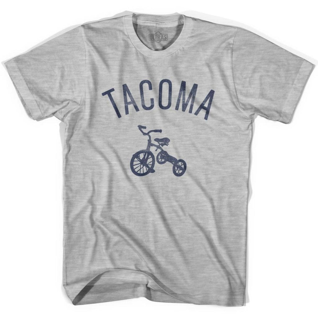 Tacoma City Tricycle Womens Cotton T-shirt - Tricycle City