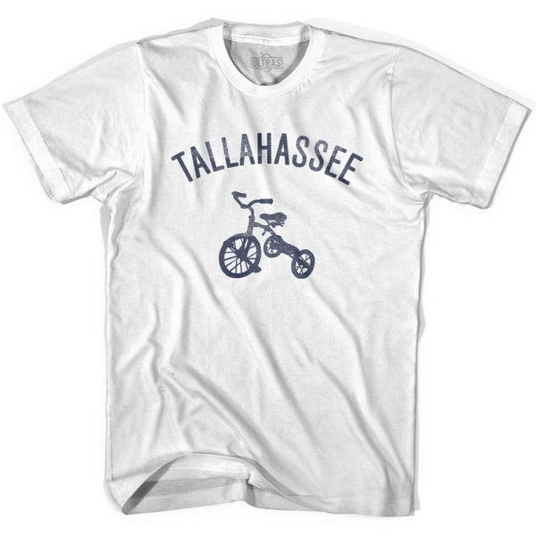 Tallahassee City Tricycle Womens Cotton T-shirt - Tricycle City