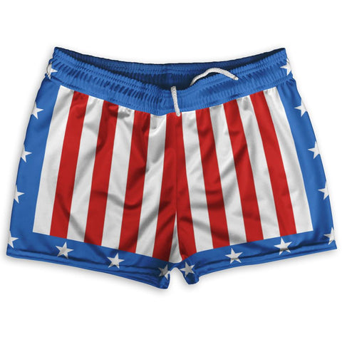 "The Champs Shorty Short Gym Shorts 2.5""Inseam By Ultras Sportswear"