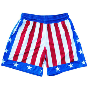 The Champ Athletic Shorts - Red White Blue / Youth X-Small - Athletic Shorts