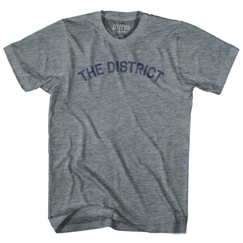 Columbia The District DC Nickname Adult Tri-Blend T-shirt by Ultras