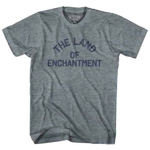 New Mexico The Land of Enchantment Nickname Adult Tri-Blend T-shirt by Ultras