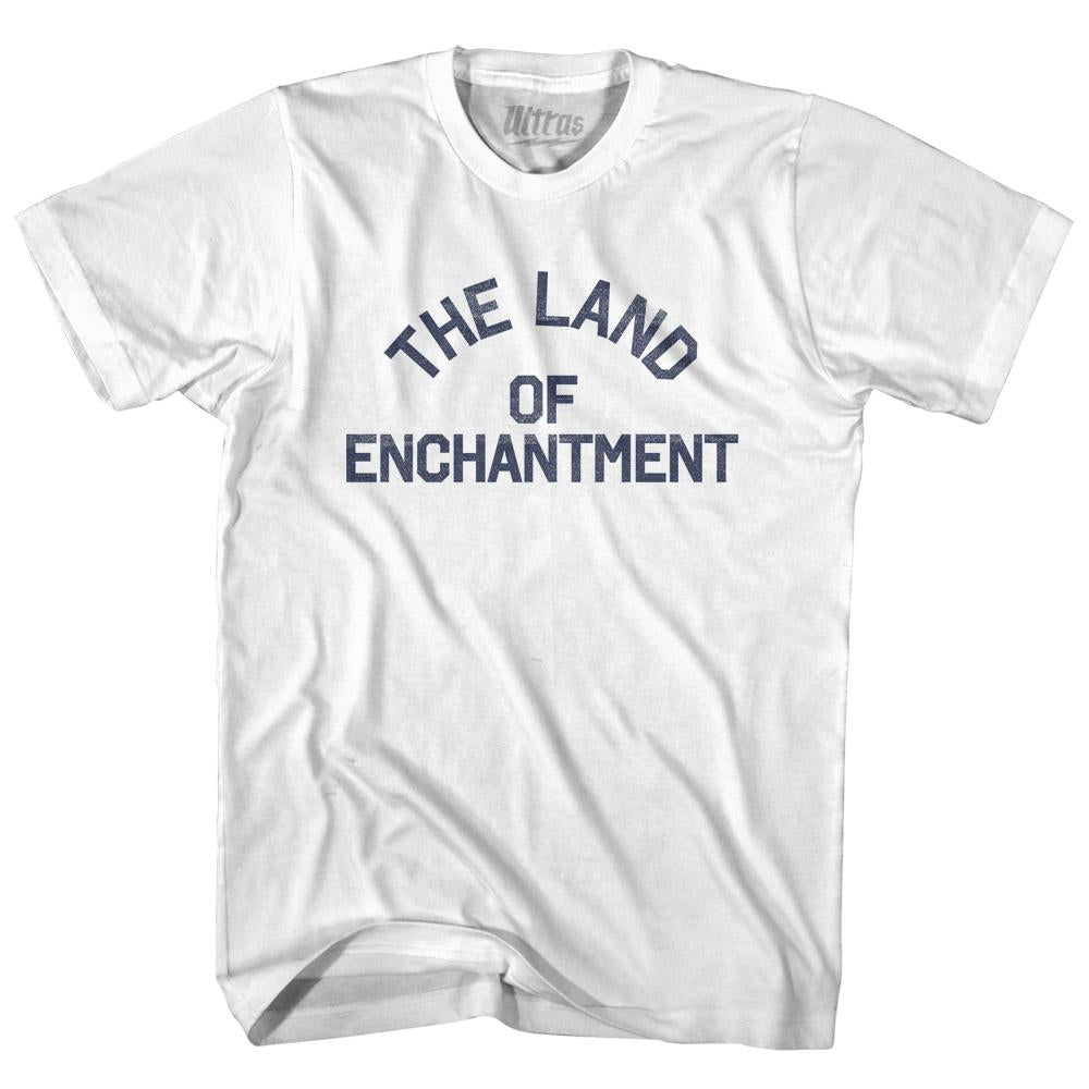 New Mexico The Land of Enchantment Nickname Womens Cotton Junior Cut T-Shirt by Ultras