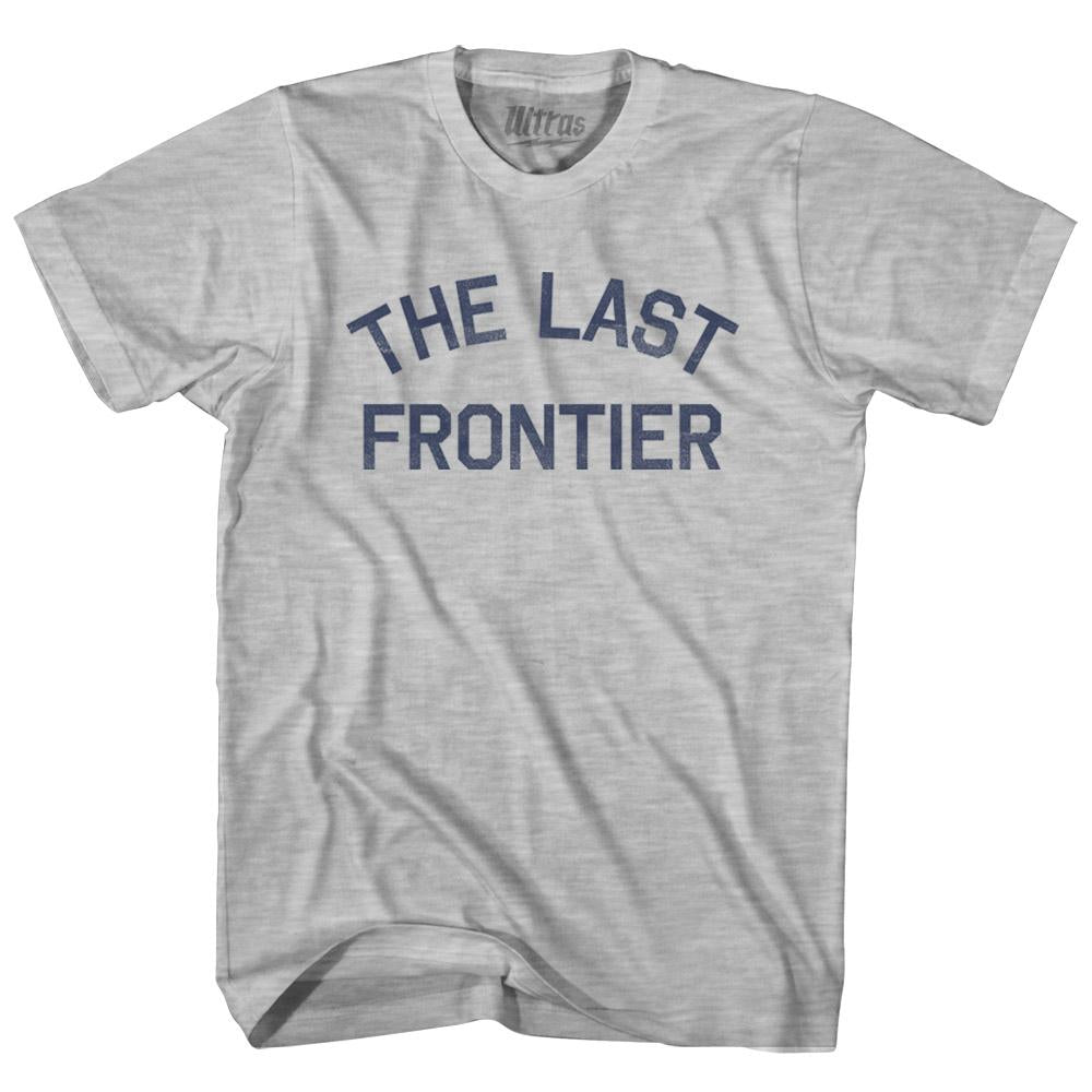 The Last Frontier State Nickname Youth Cotton T-shirt by Ultras