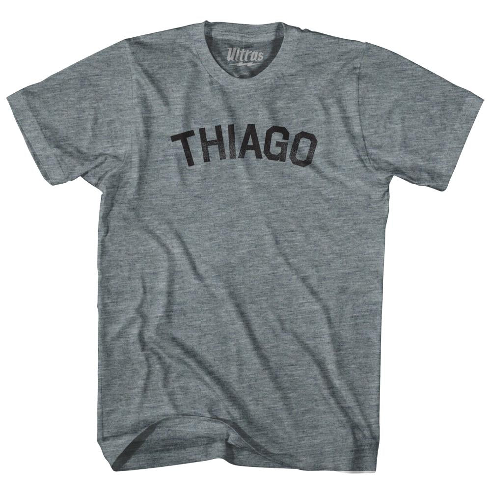 Thiago Womens Tri-Blend Junior Cut T-Shirt by Ultras