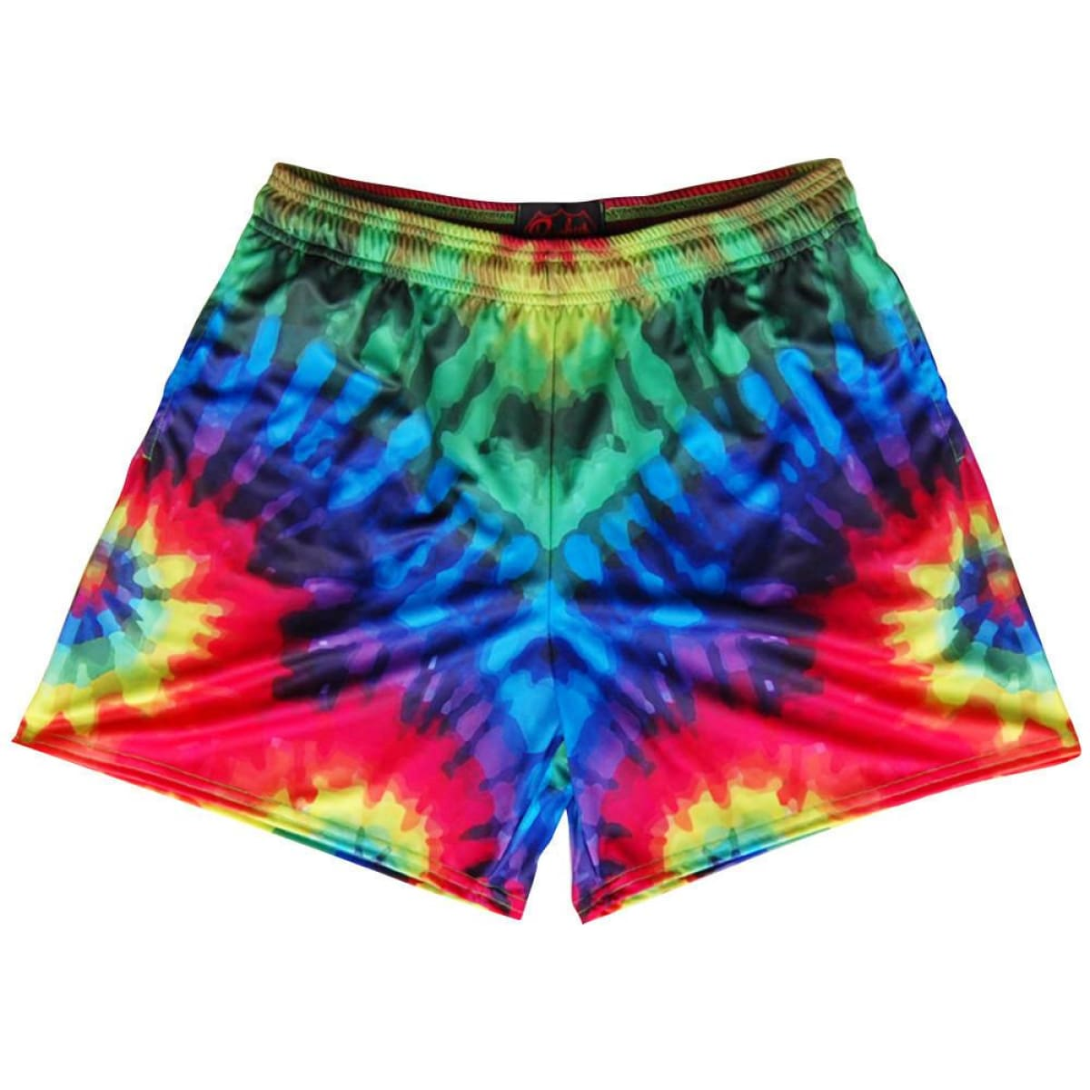 Tie Dye Rugby Shorts - Tie Dye / Adult Small - Rugby Cut Training Shorts