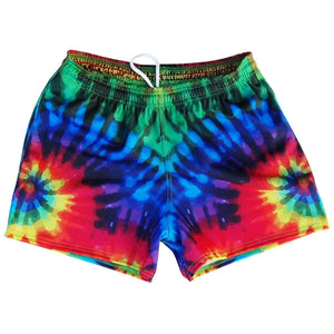 Tie Dye Rugby Union Shorts - Tie Dye / Adult X-Small - Rugby Union Shorts