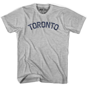 Toronto City Vintage T-shirt - Grey Heather / Youth X-Small - Mile End City