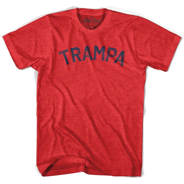 Trampa City Vintage T-shirt - Heather Red / Adult X-Small - Mile End City