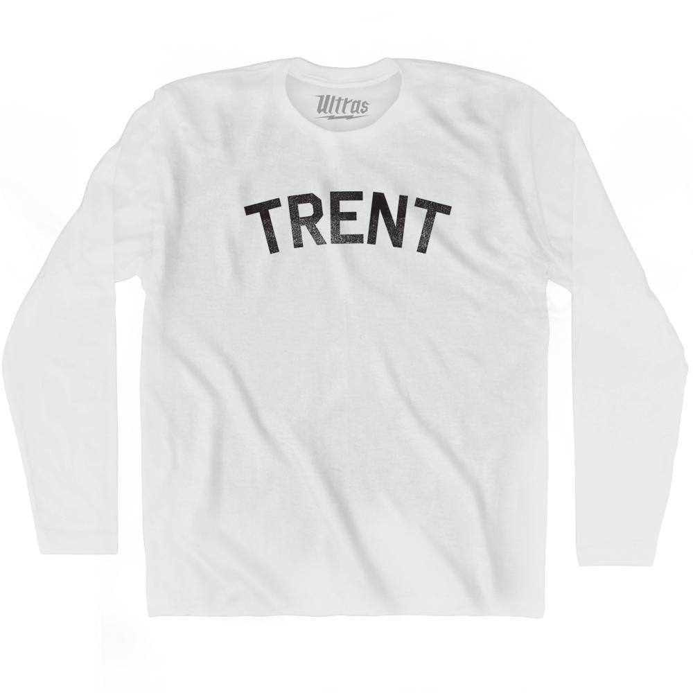 Trent Adult Cotton Long Sleeve T-shirt by Ultras