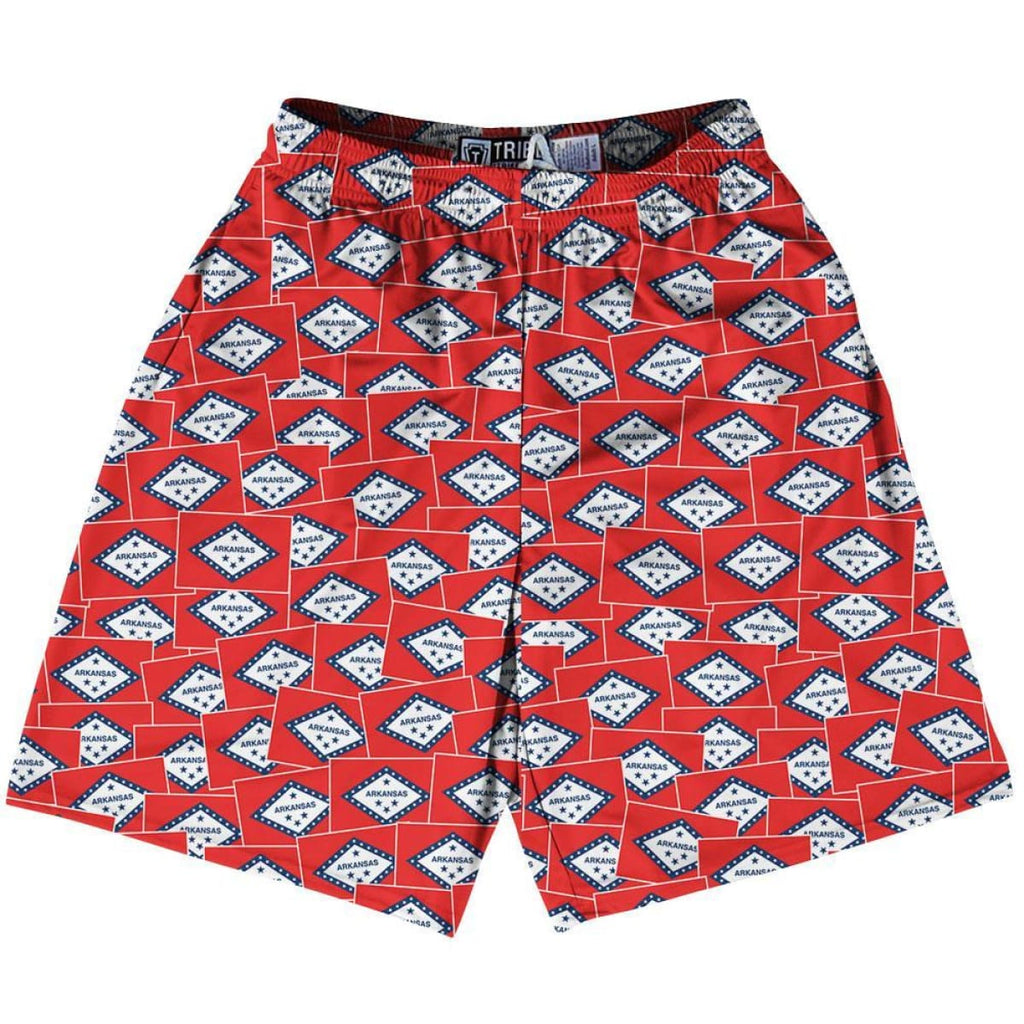 Tribe Texas State Party Flags Lacrosse Shorts