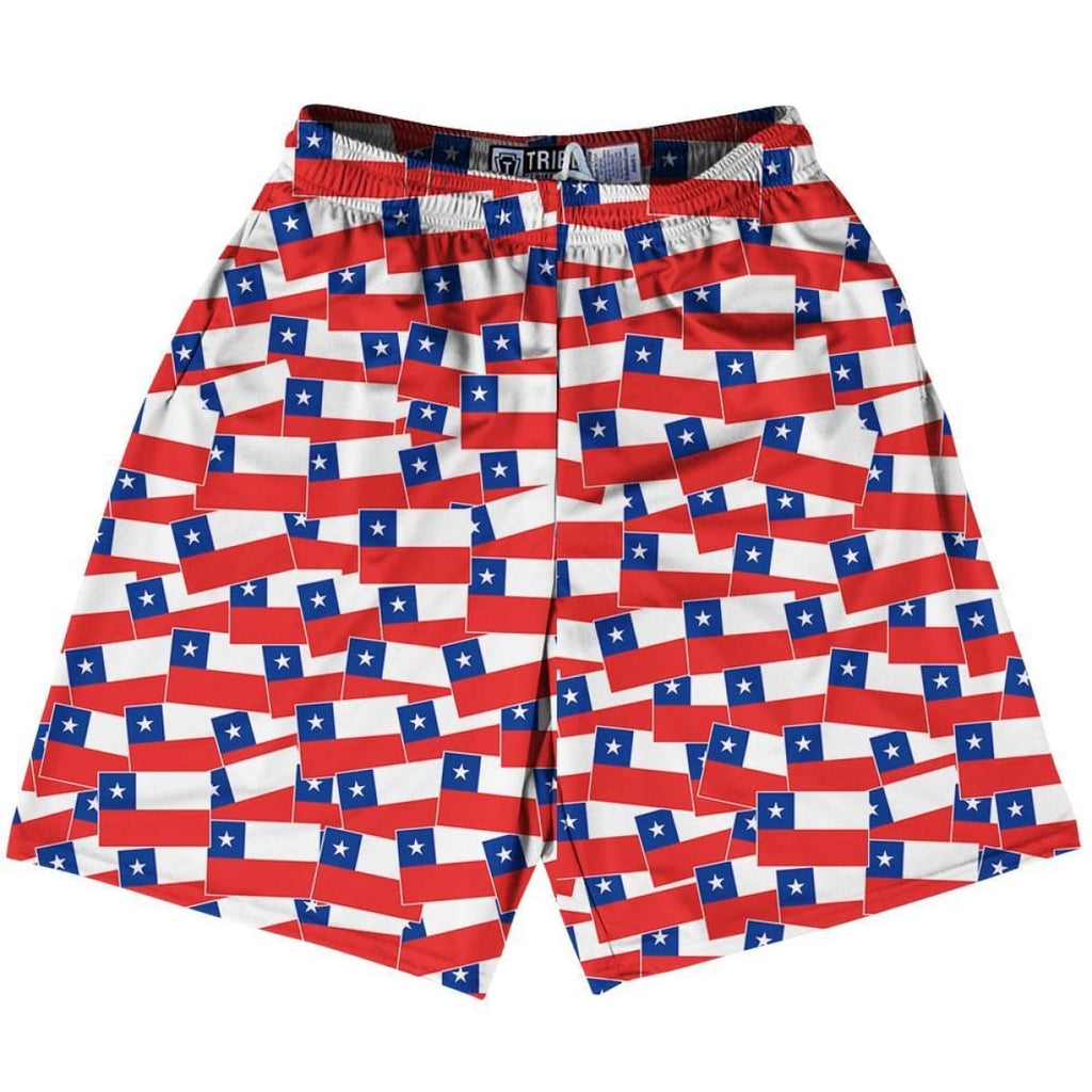 Tribe North Dakota State Party Flags Lacrosse Shorts