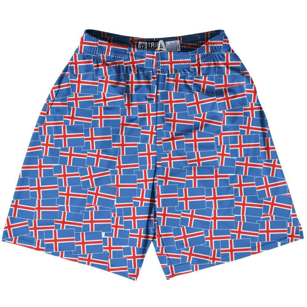 Tribe Finland Party Flags Lacrosse Shorts