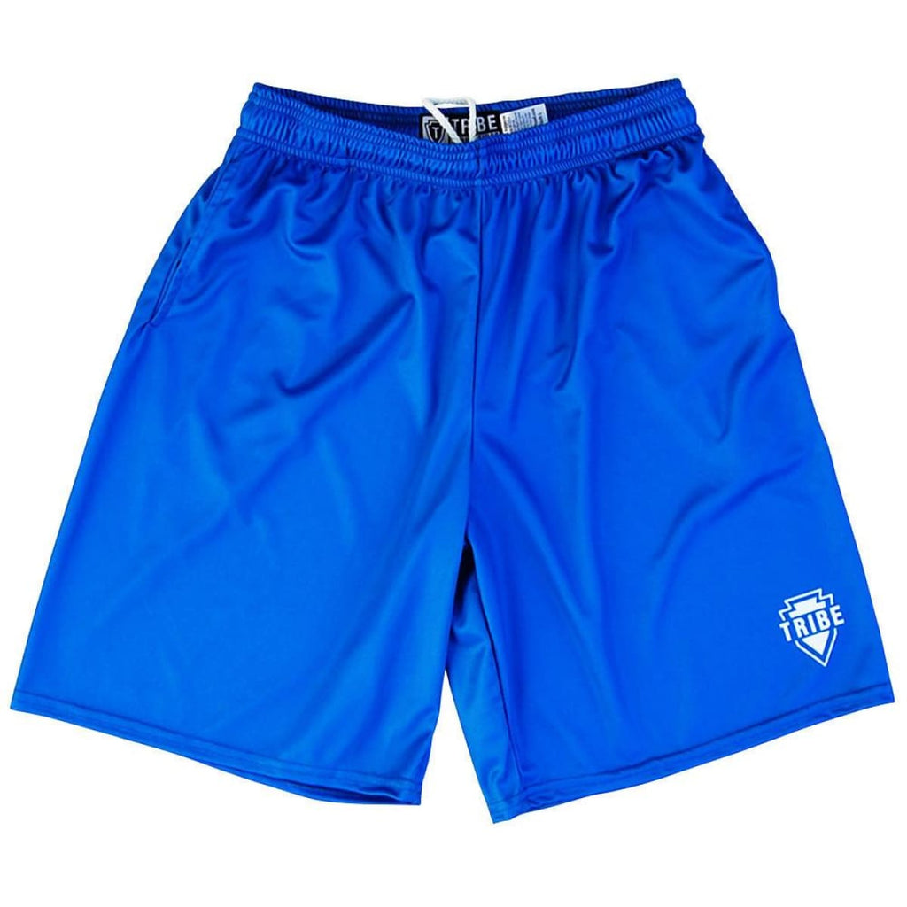 Tribe Royal Lacrosse Battle Shorts - Royal / Youth X-Small - Tribe Lacrosse Shorts