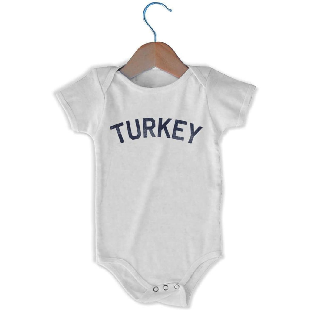 Turkey City Infant Onesie - White / 6 - 9 Months - Mile End City