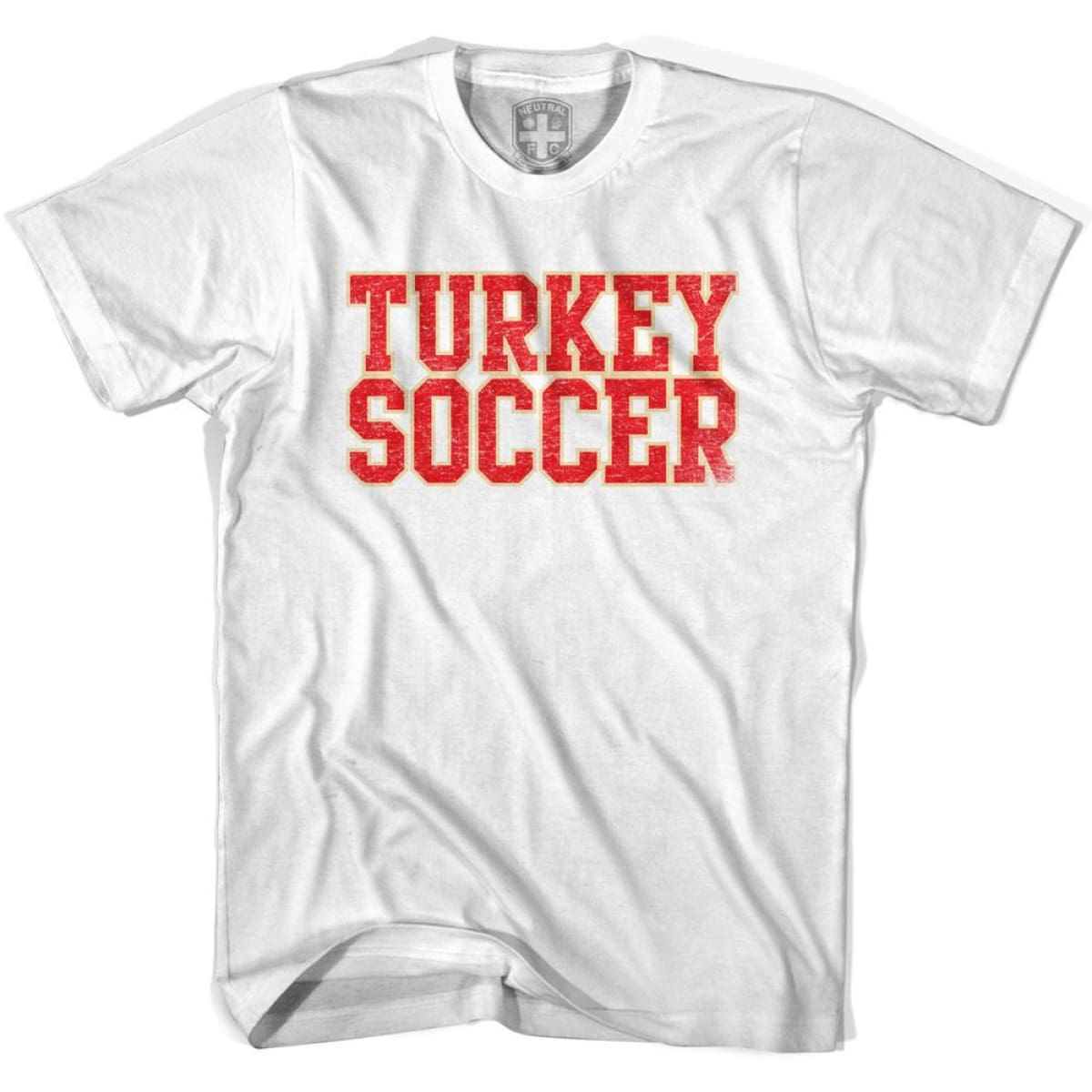 Turkey Soccer Nations World Cup T-shirt - White / Youth X-Small - Ultras Soccer T-shirts