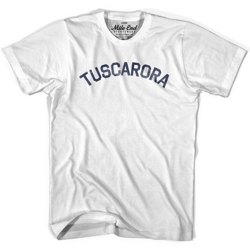 Tuscarora Tribe Vintage T-shirt - Grey Heather / Youth X-Small - Mile End City