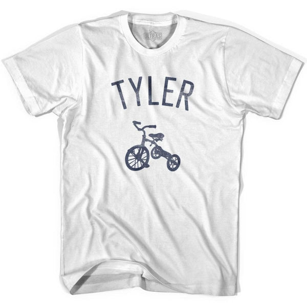 Tyler City Tricycle Womens Cotton T-shirt - Tricycle City
