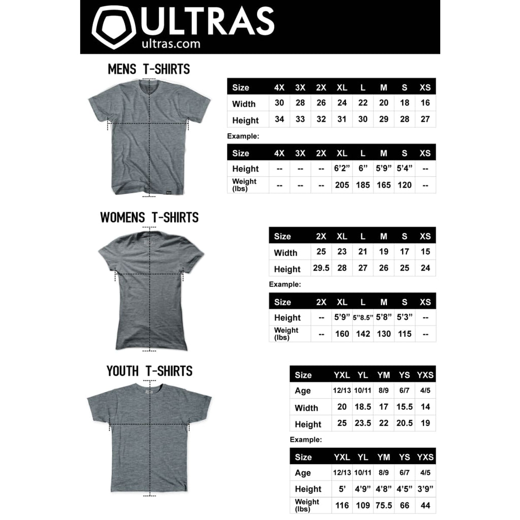 Ultras Arsenal Clock V-neck T-shirt - Ultras Club Soccer T-shirt