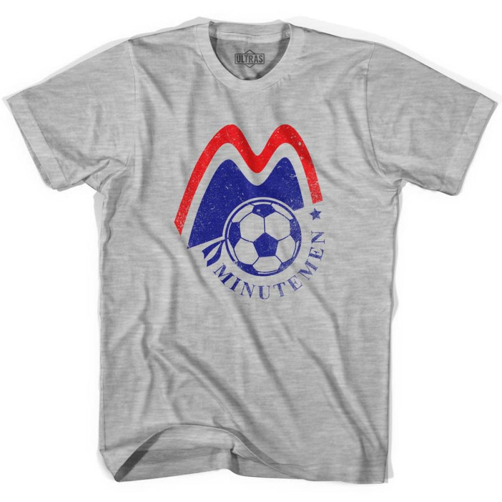 Ultras Boston Minutemen Soccer Ultras Soccer T-shirt - Ultras Club Soccer T-shirt