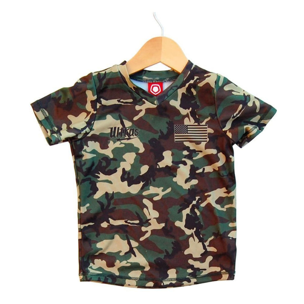 1ee596be515 Ultras Camo Kids Sublimated Soccer Jersey - Army / Youth X-Small / No -