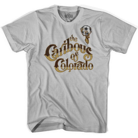 Ultras Caribous of Colorado Soccer T-shirt - Cool Grey / Adult Small - Ultras Club Soccer T-shirt