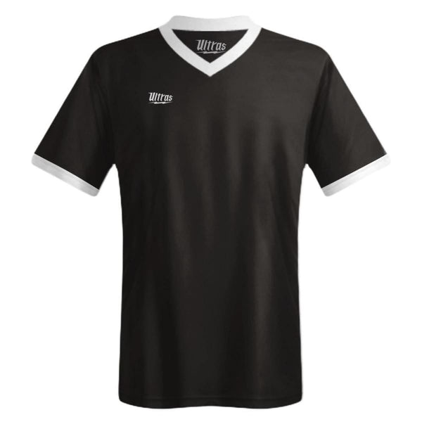 Ultras Custom Imact Team Soccer Jersey - Black / Toddler 1 / No - Ultras Custom Team Soccer Jersey