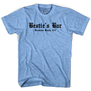 Ultras George Best Besties Bar Hermosa Beach Soccer T-shirt - Athletic Blue / Adult Small - Ultras Club Soccer T-shirt