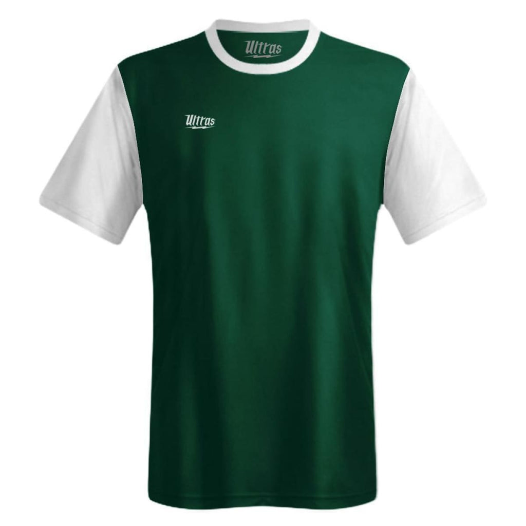 Ultras Highbury Custom Team Soccer Jersey - Green / Toddler 1 / No - Ultras Custom Team Soccer Jersey