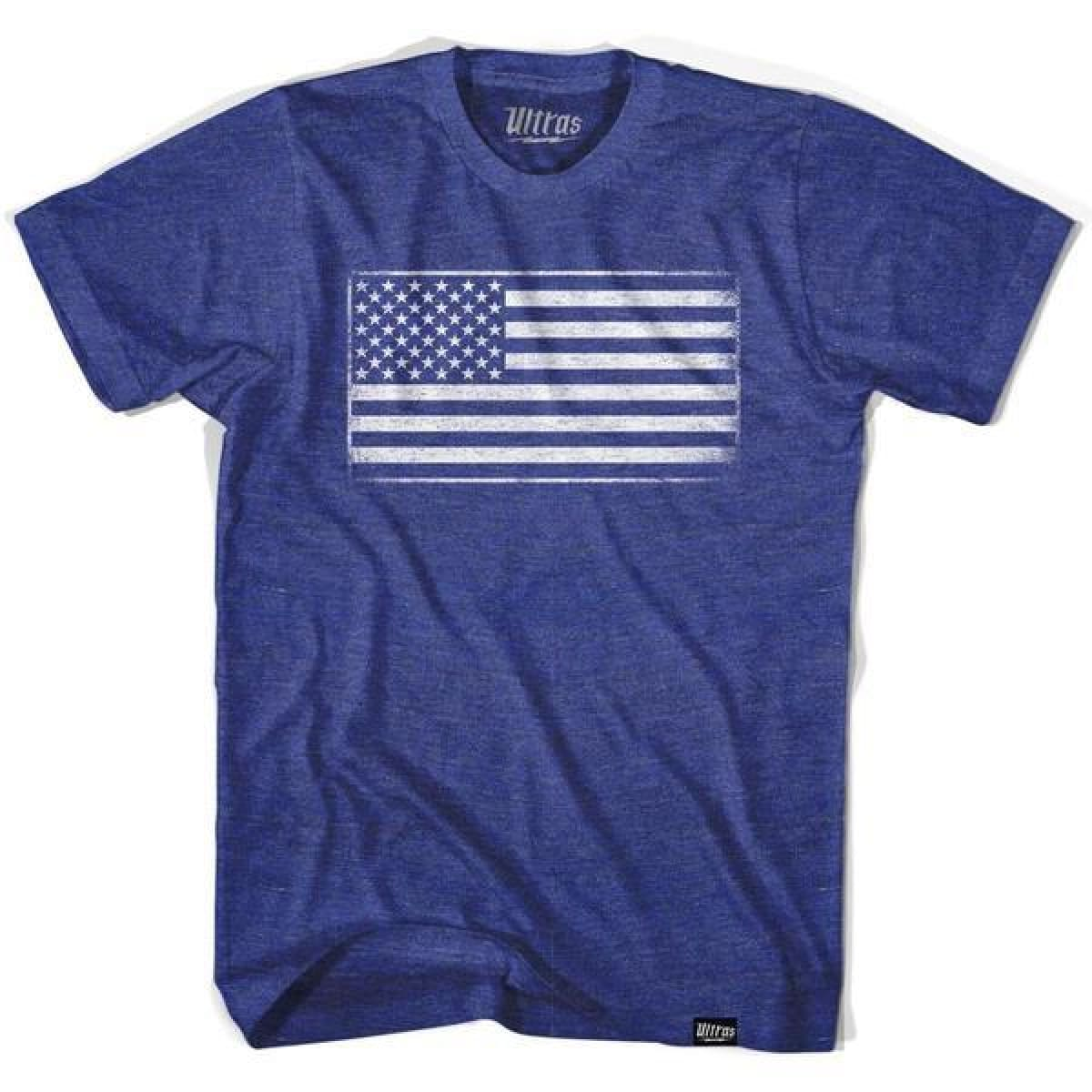 Ultras USA American Flag T-shirt - Ultras USA Soccer T-shirts