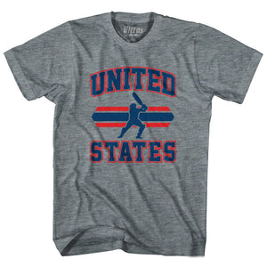 Ultras - United States 90's Cricket Team Tri-Blend Adult T-shirt