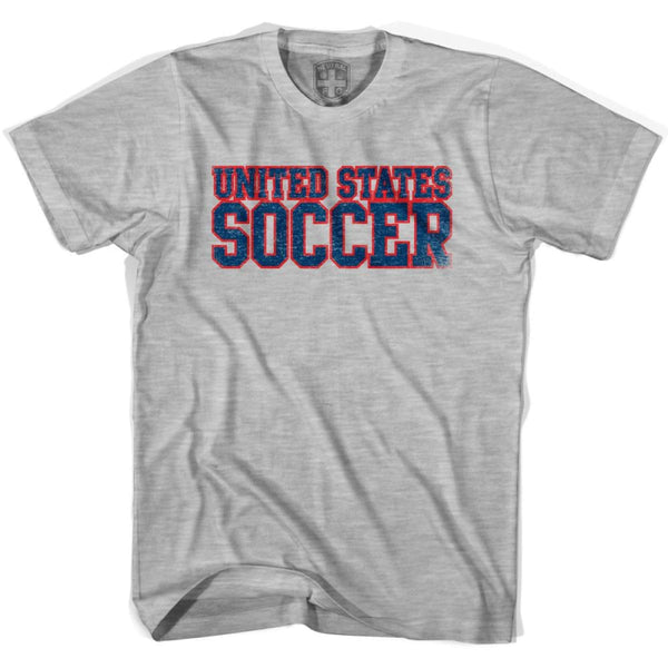 United States Soccer Nations World Cup T-shirt - Grey Heather / Youth X-Small - Ultras Soccer T-shirts