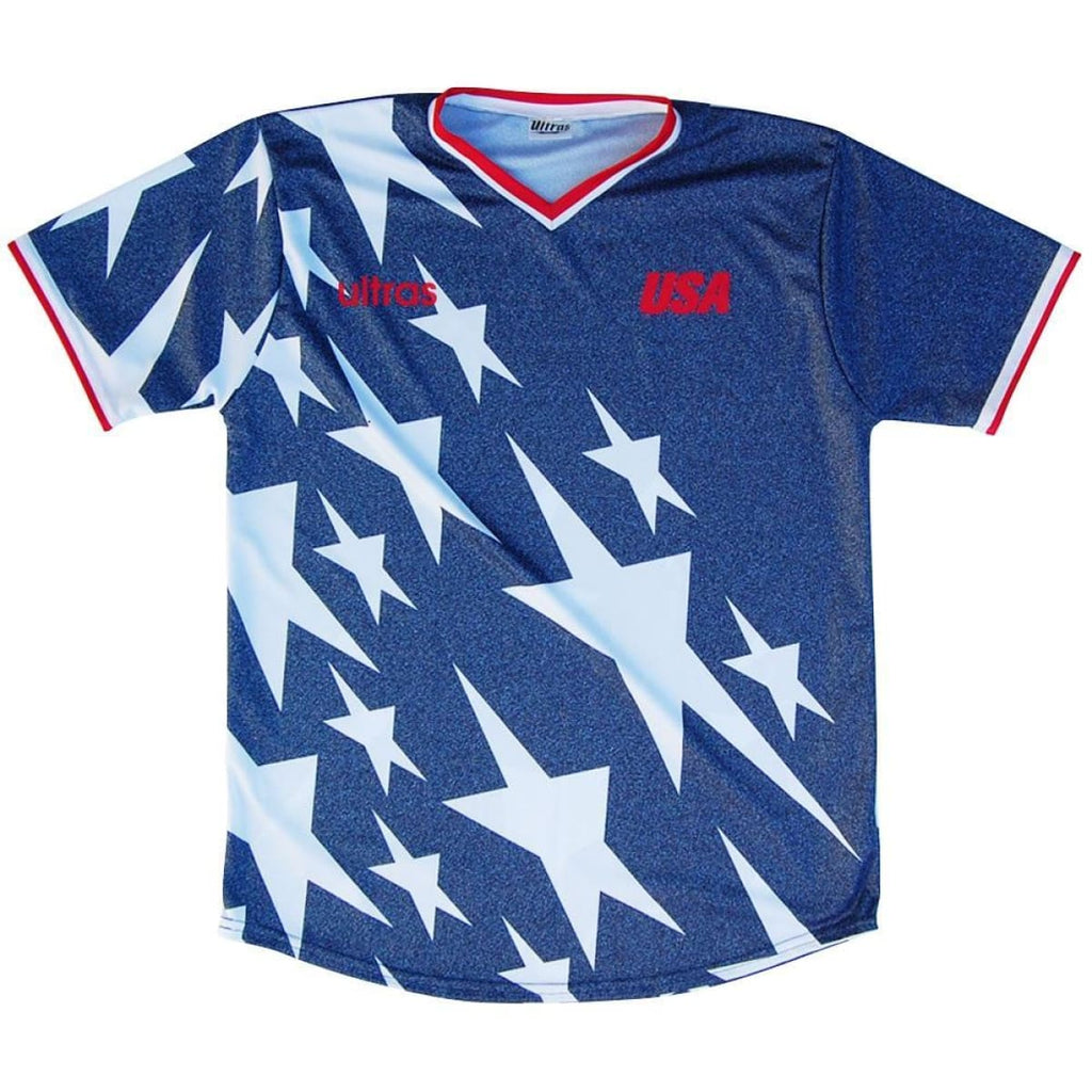 USA 1994 Denim Soccer Jersey - Blue / Toddler 1 / No - Soccer Jersey