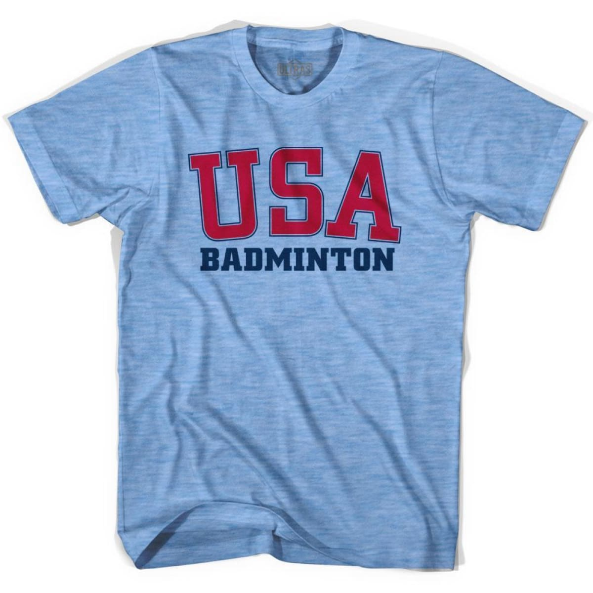 USA Badminton Ultras T-shirt - Athletic Blue / Adult Small - Ultras Country T-shirts